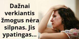 Ką apie žmogų sako tai, jei jis dažnai verkia?