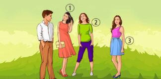Psichologinis testas: kuri moteris patinka vyrui?