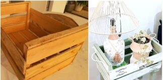 Stilinga, praktiška, pigu: idėja, kaip pertvarkyti seną medinę dėžę