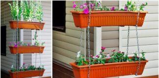 Gražūs ir paprasti kabantys gėlių loveliai: kaip juos pasidaryti?